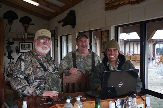 Turkey Hunters in the Lodge